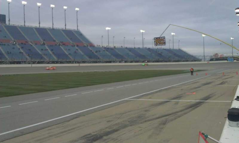 Seating view for Chicagoland Speedway Section Pit