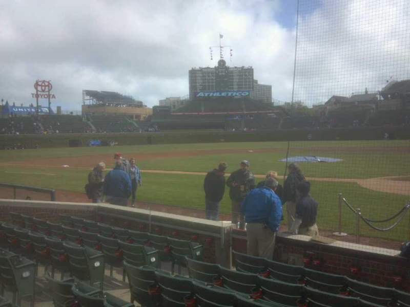 Seating view for Wrigley Field Section 17 Row 6 Seat 104