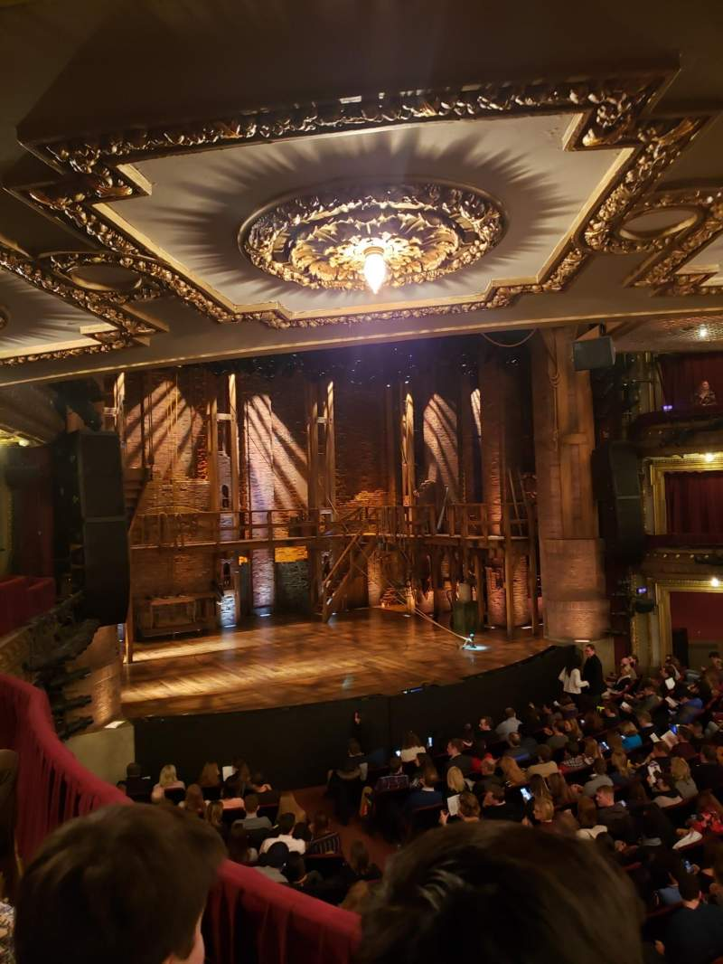 Seating view for CIBC Theatre Section Dress Circle R Row B Seat 7
