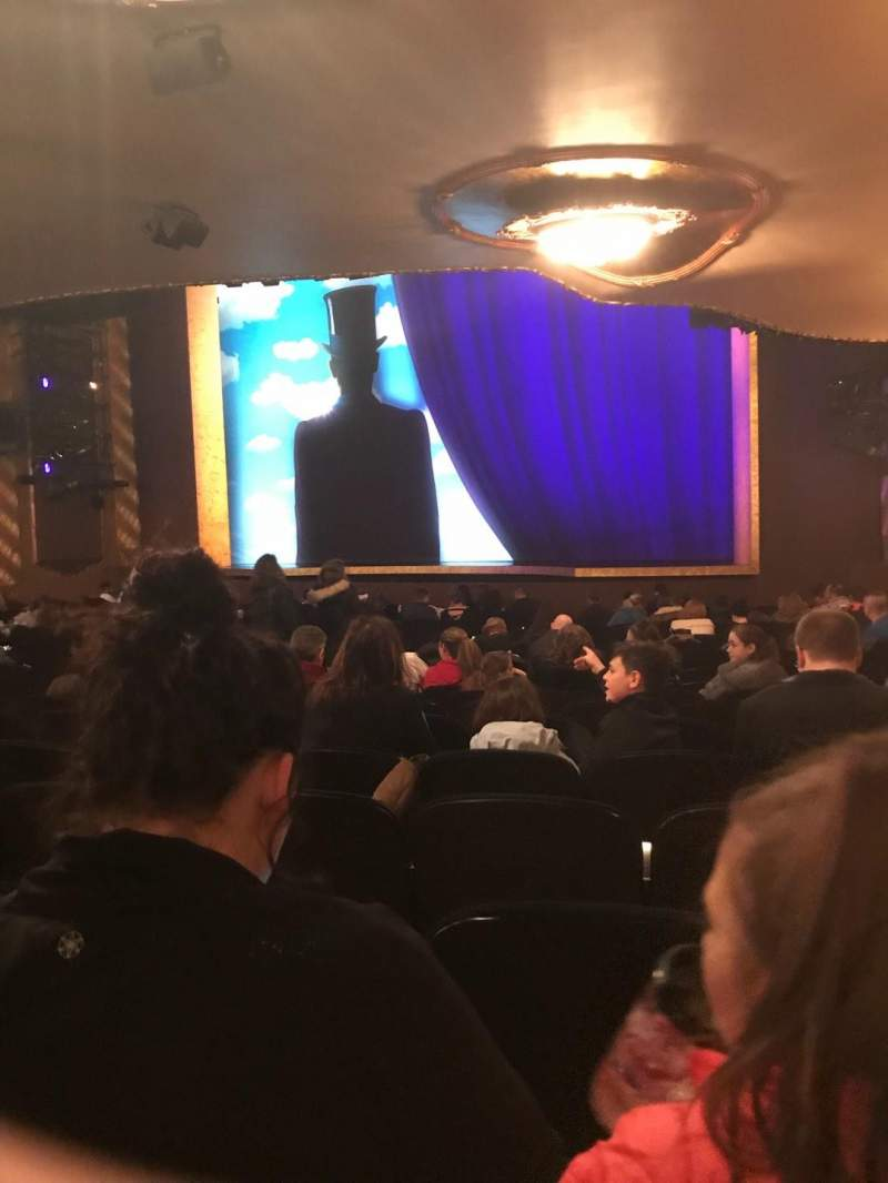 Lunt-Fontanne Theatre, section: Rear O, row: V, seat: 20