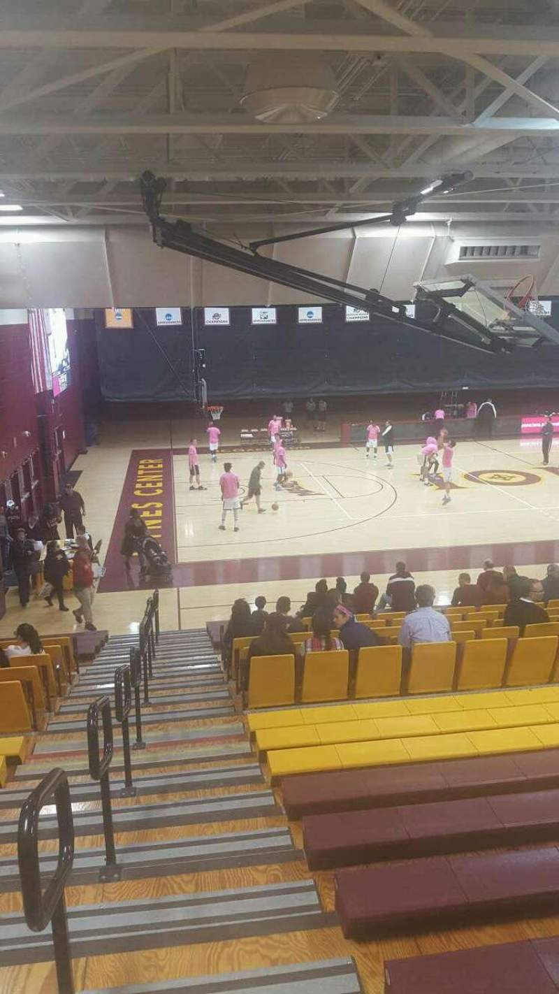 Hynes Athletic Center, section: 15, row: V, seat: 15