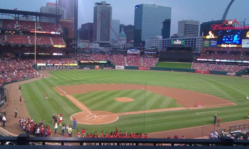 Seating view for Busch Stadium Section Suite 44 Row b Seat 8