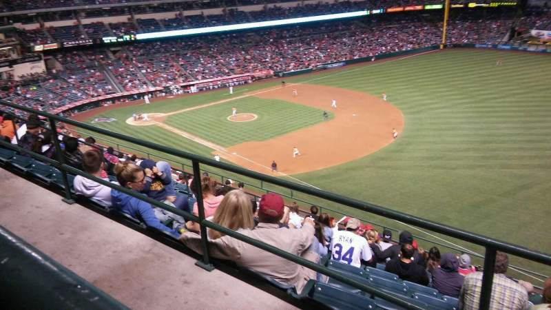 Seating view for Angel Stadium Section V532