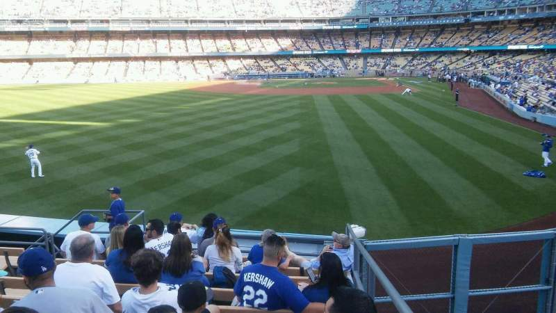Seating view for Dodger Stadium Section 301PL Row F/G