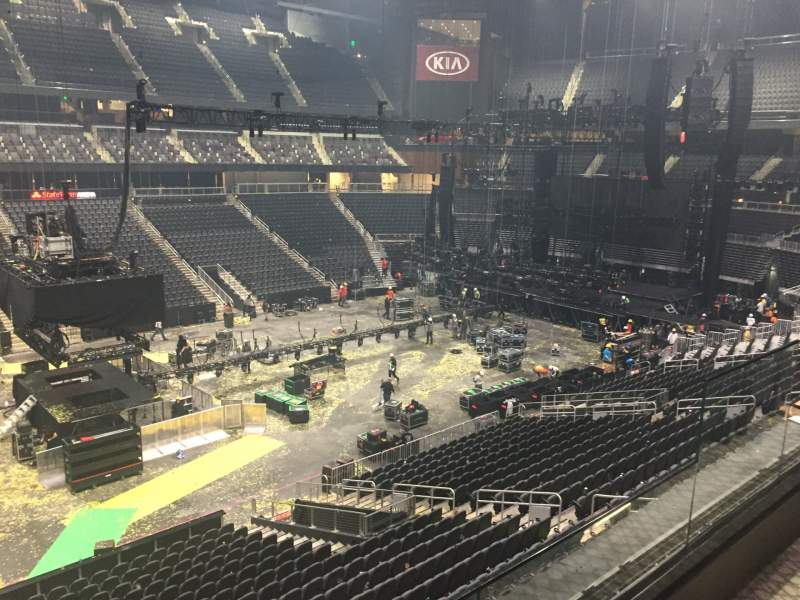 Seating view for State Farm Arena Section V15 Row VIP Seat 10