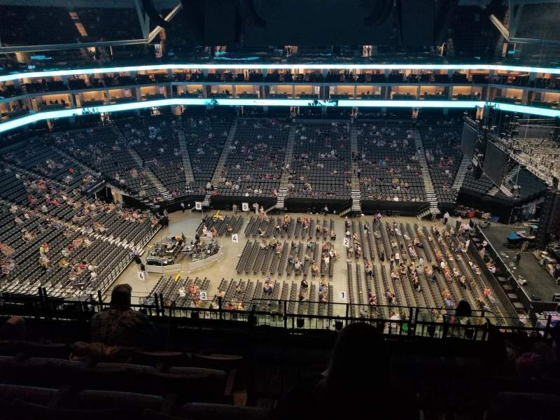 Golden 1 Center, section: 205, row: J, seat: 10