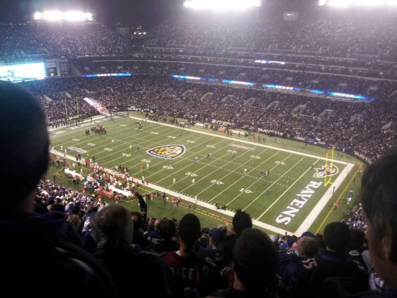 M&T Bank Stadium, section: 548, row: 23, seat: 5