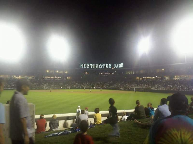 Seating view for Huntington Park Section Lawn