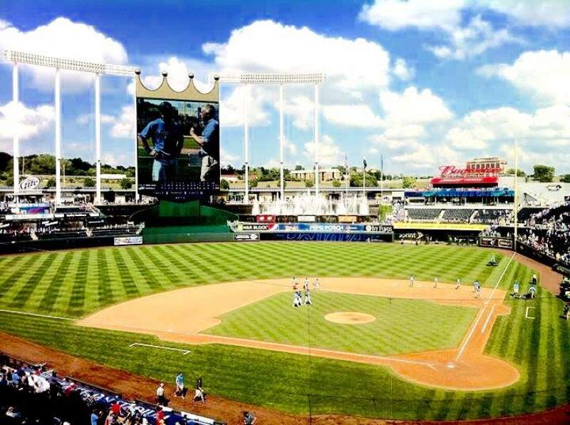 Seating view for Kauffman Stadium Section 311 Row A Seat 2