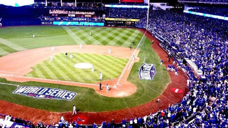 Seating view for Kauffman Stadium Section 416 Row A Seat 1