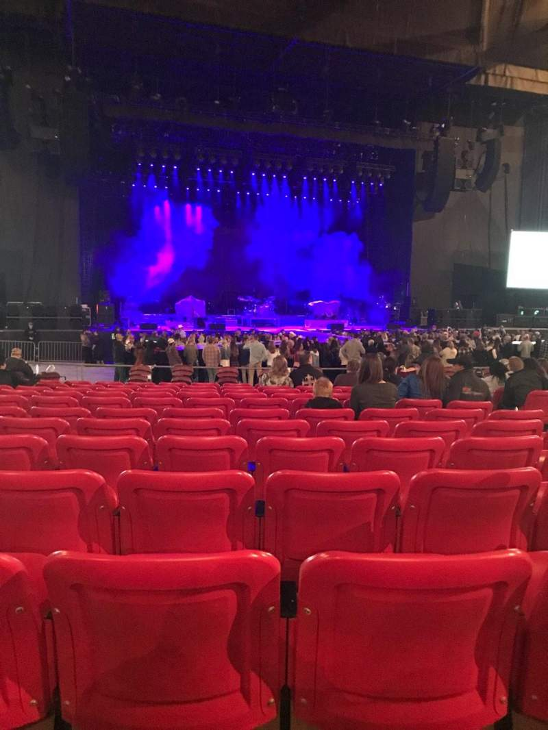 Seating view for White River Amphitheatre Section 104 Row 12 Seat 6