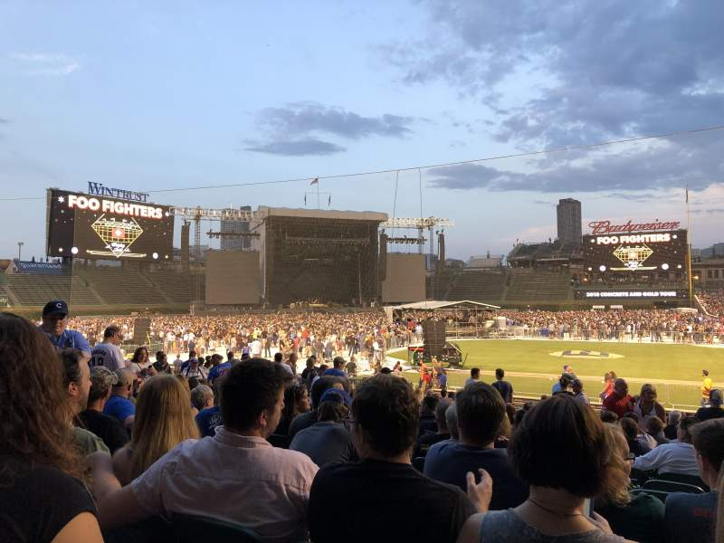 Wrigley Field, section: 116, row: 12, seat: 108