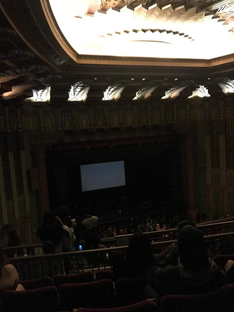 Seating view for The Wiltern Section MEZZ Row E Seat 124