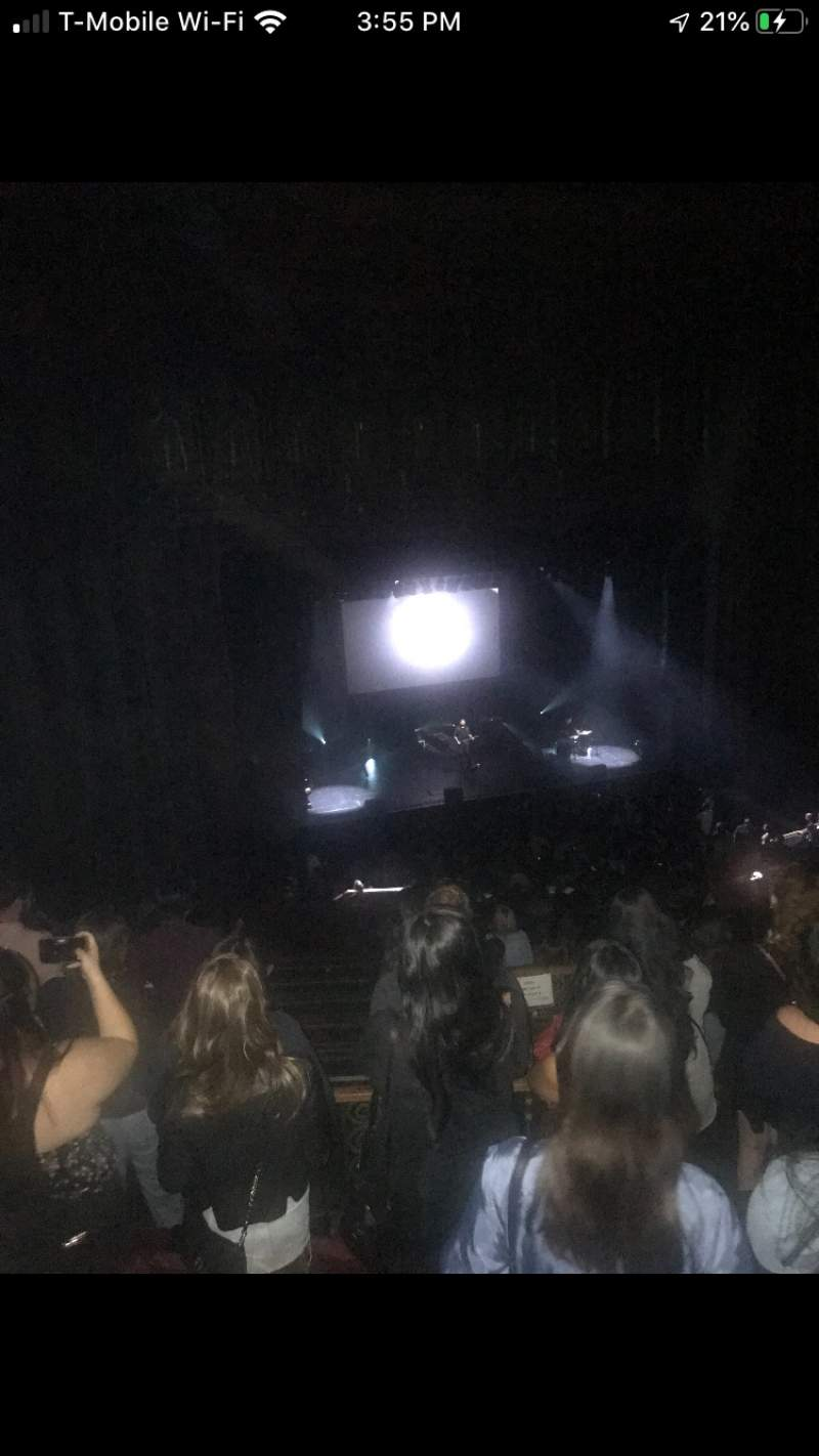 Seating view for The Wiltern Section MEZZ Row E Seat 123