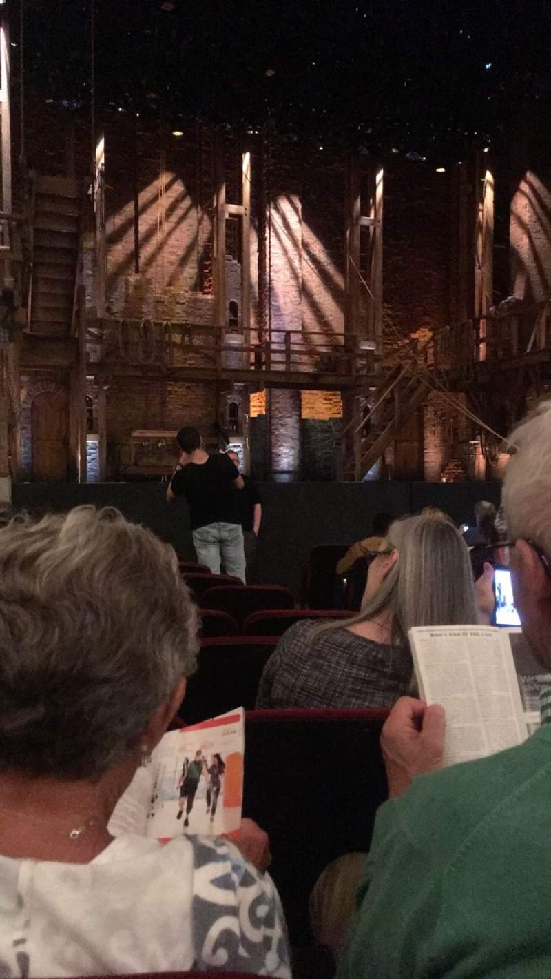 Seating view for CIBC Theatre Section Orchestra L Row L Seat 5