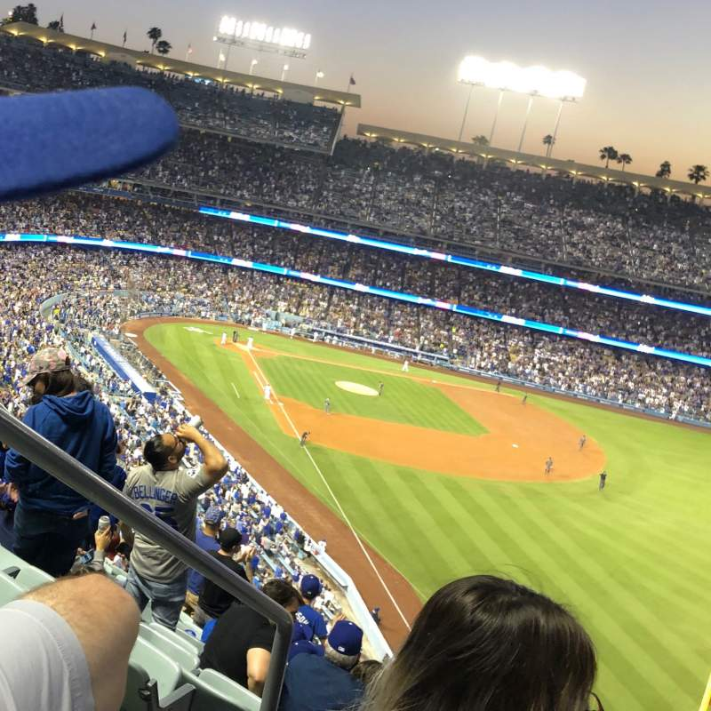Seating view for Dodger Stadium Section 56RS Row T Seat 2