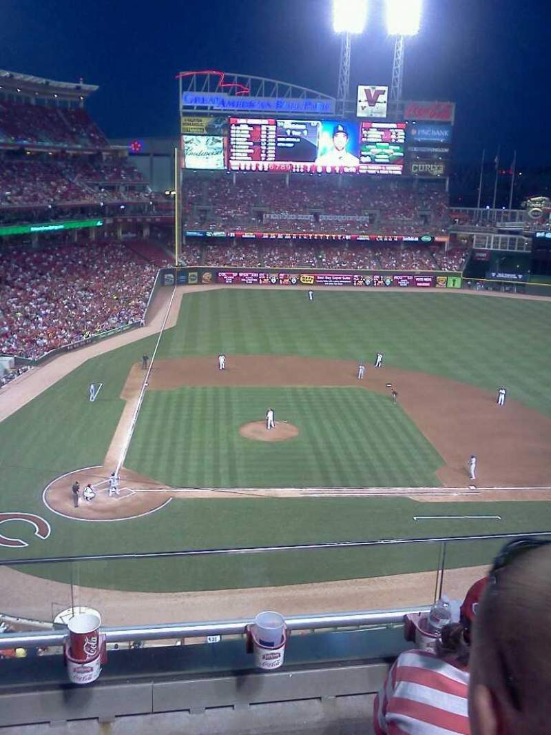 Seating view for Great American Ball Park Section 428 Row C Seat 6