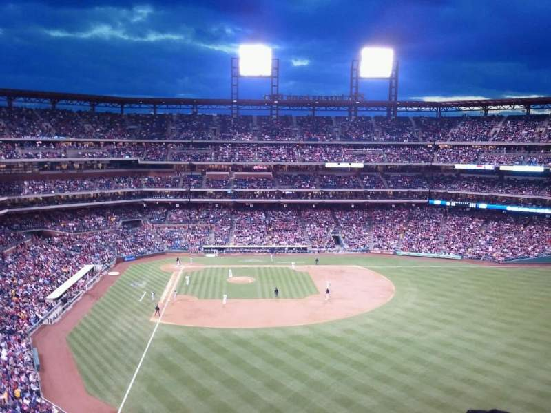 Seating view for Citizens Bank Park Section 304 Row 11 Seat 12