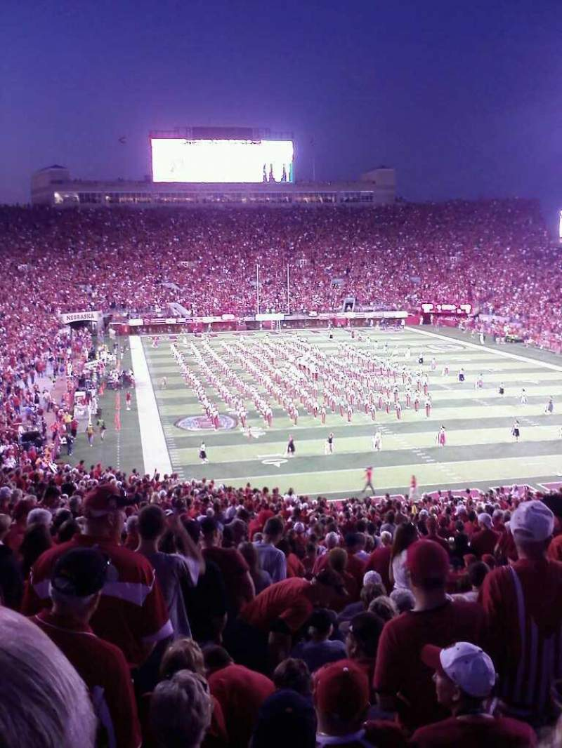 Seating view for Memorial Stadium Section 17 Row 35 Seat 25