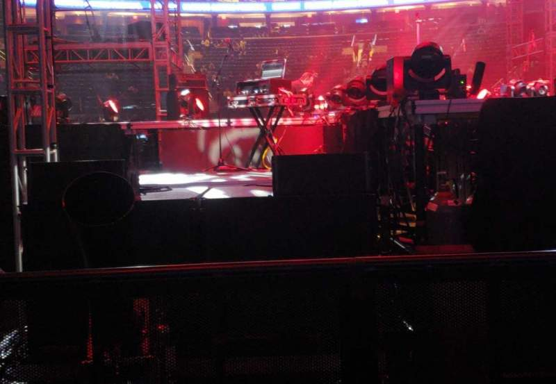 Seating view for Madison Square Garden Section 2 Row 1 Seat 1