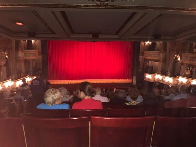 Seating view for Theatre Royal Drury Lane Section Royal Circle Row L Seat 26