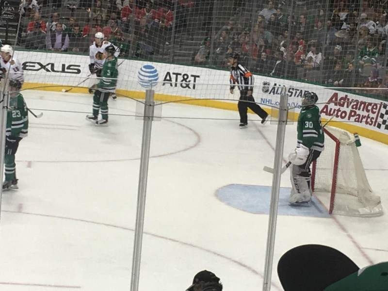 Seating view for American Airlines Center Section 104 Row N Seat 12