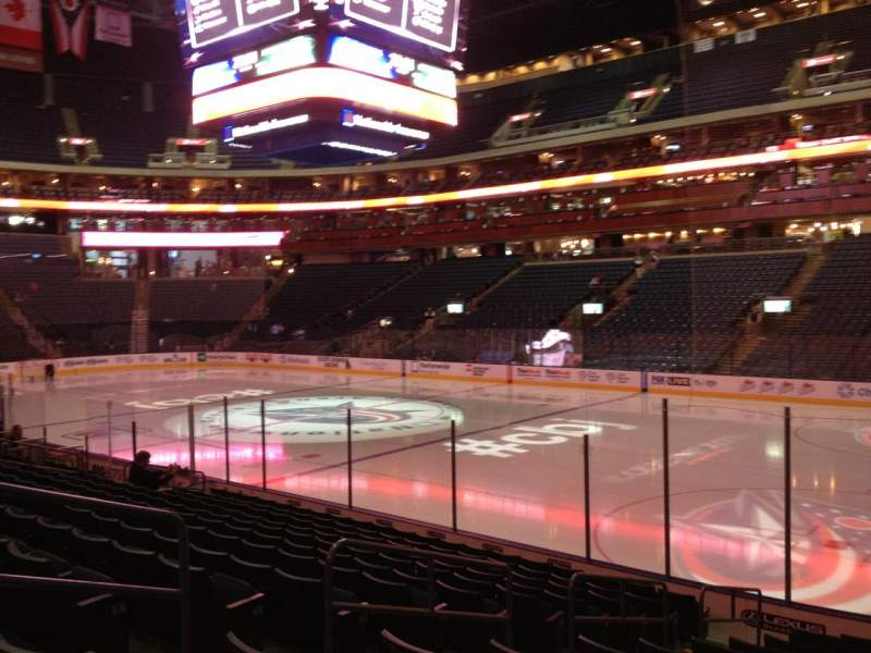 Seating view for Nationwide Arena Section 101 Row N Seat 16