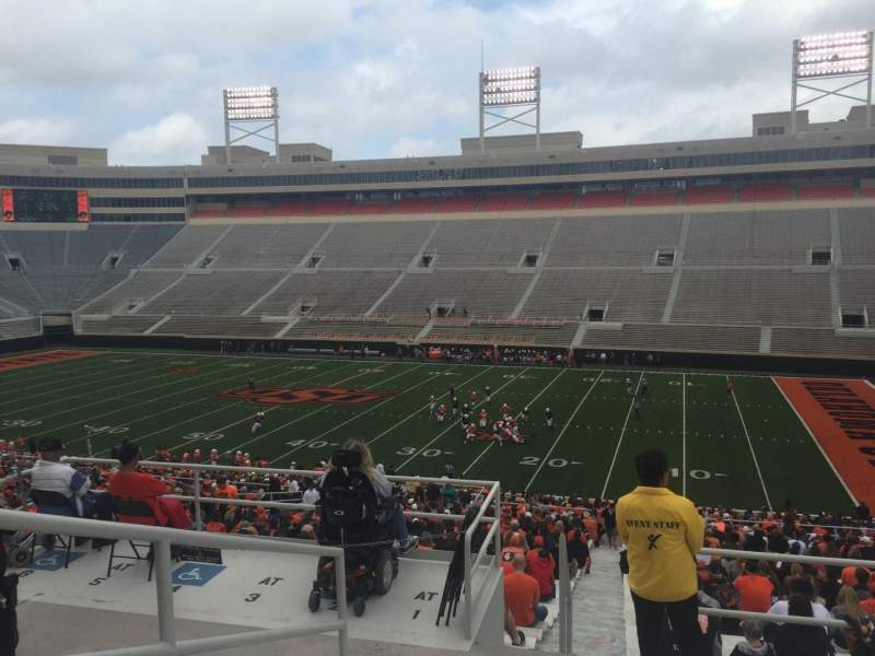 Seating view for Boone Pickens Stadium Section 302 Row 7 Seat 50