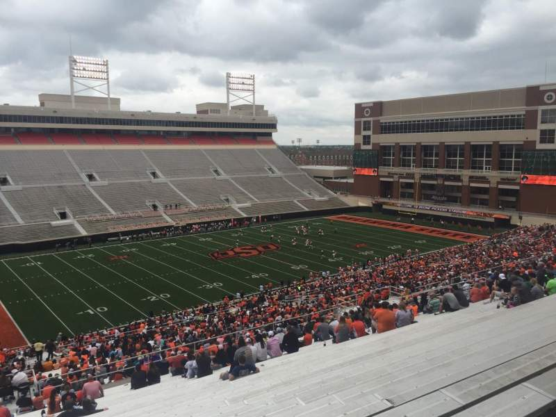 Seating view for Boone Pickens Stadium Section 309 Row 30 Seat 42