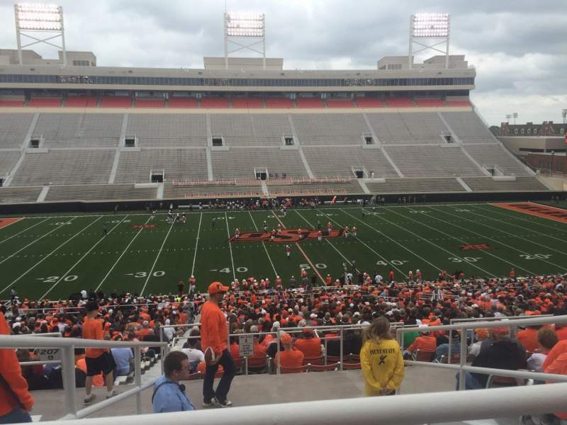 Seating view for Boone Pickens Stadium Section 306 Row 10 Seat 22