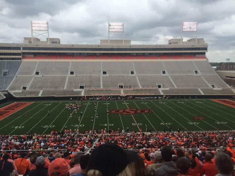 Boone Pickens Stadium, section: 306, row: 22, seat: 20