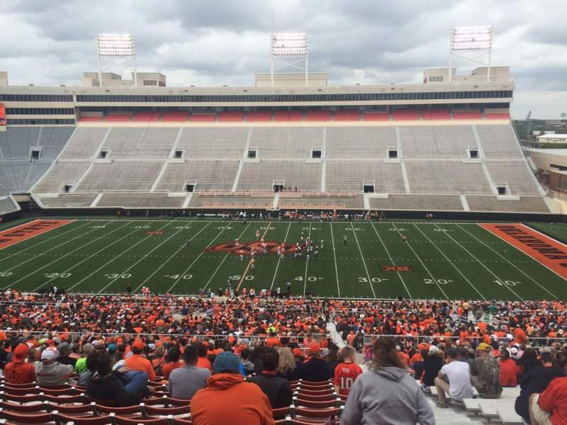 Seating view for Boone Pickens Stadium Section 305 Row 30 Seat 2