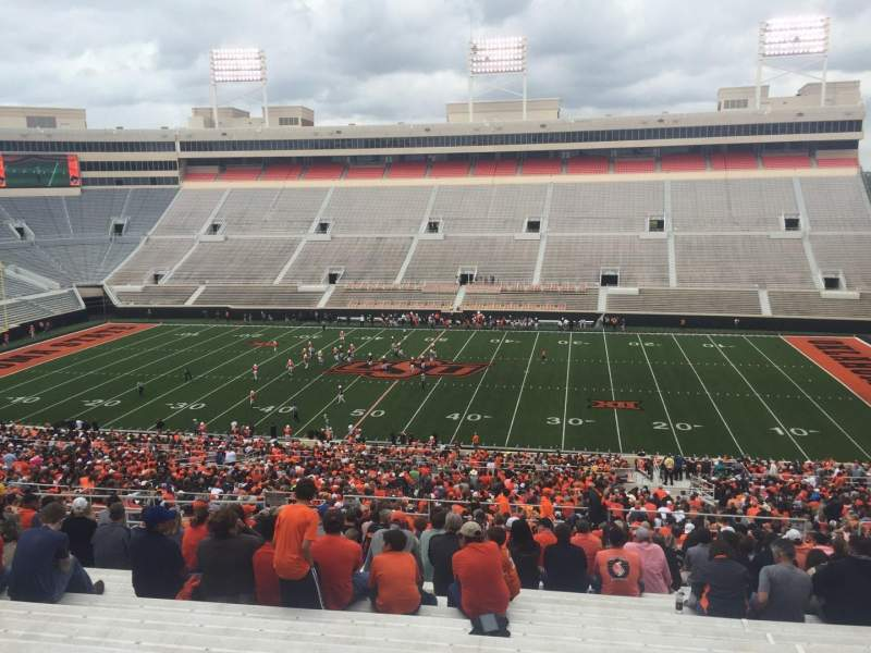 Seating view for Boone Pickens Stadium Section 304 Row 27 Seat 14