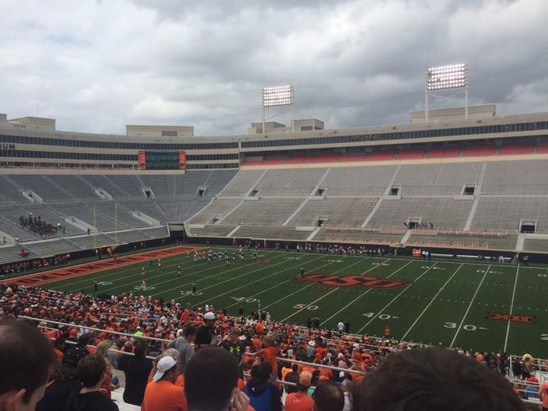 Seating view for Boone Pickens Stadium Section 304 Row 11 Seat 1