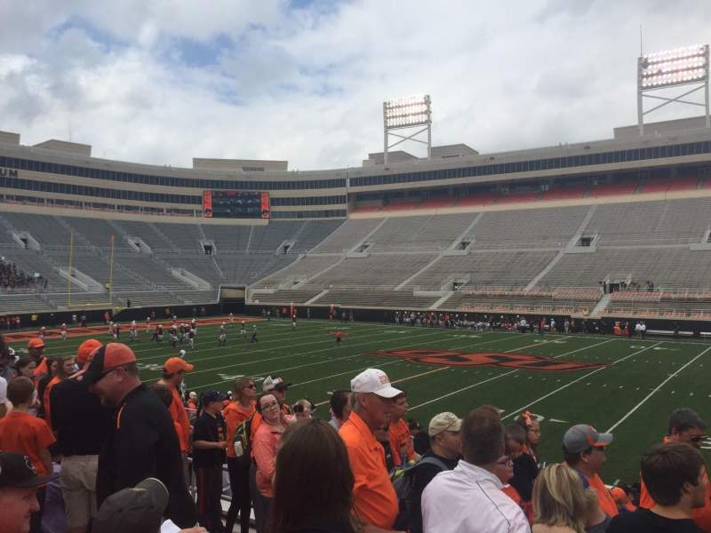 Seating view for Boone Pickens Stadium Section 204 Row 6 Seat 7