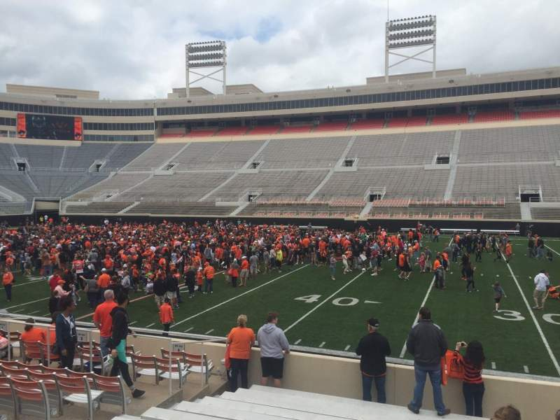 Boone Pickens Stadium, section: 104, row: 13, seat: 20