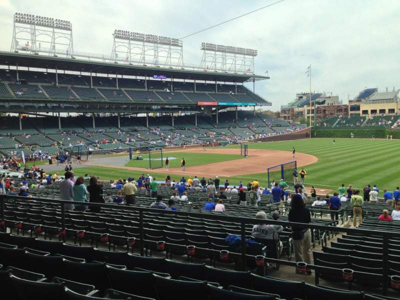 Seating view for Wrigley Field Section 236 Row 5 Seat 108