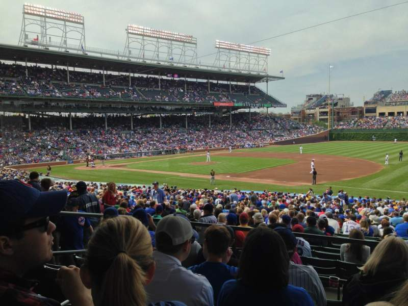Seating view for Wrigley Field Section 235 Row 5 Seat 108