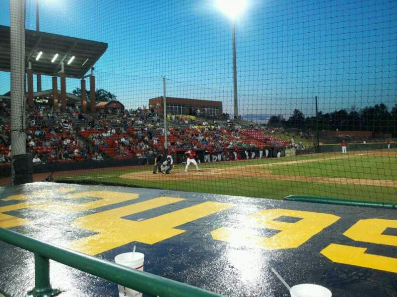 Seating view for L.P. Frans Stadium