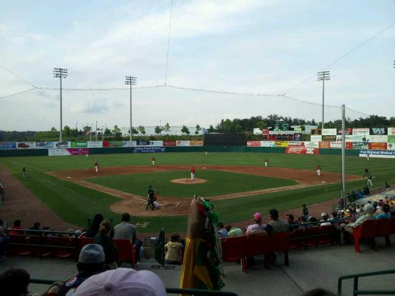 Seating view for L.P. Frans Stadium Section FF Row 4 Seat 2