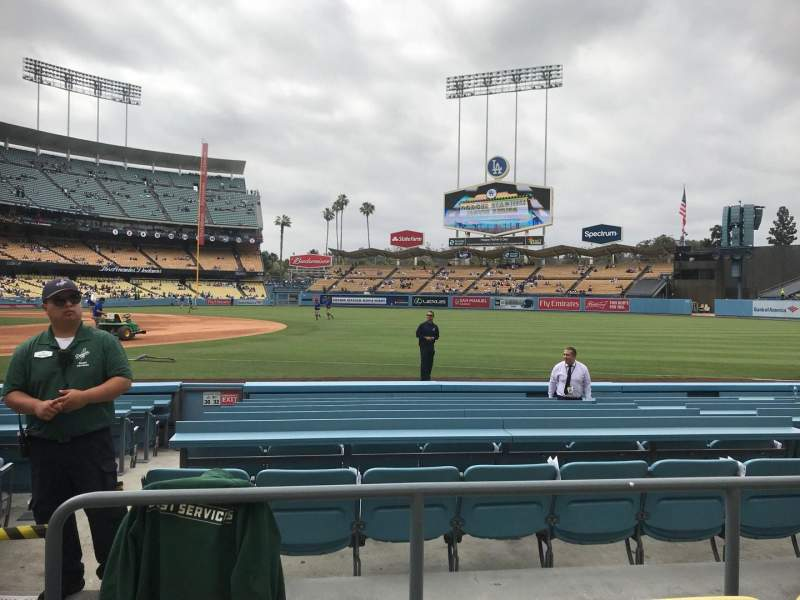 Seating view for Dodger Stadium Section 32FD Row C Seat 2