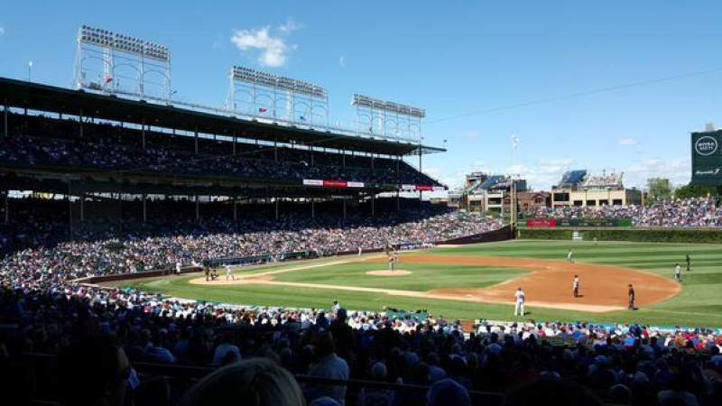 Seating view for Wrigley Field Section 231 Row 5 Seat 11