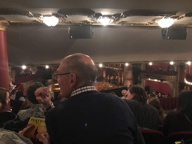 Seating view for PrivateBank Theatre Section Dress Circle LC Row G Seat 233