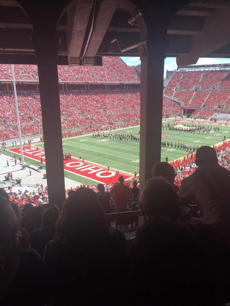 Seating view for Ohio Stadium Section 7B Row 11 Seat 21