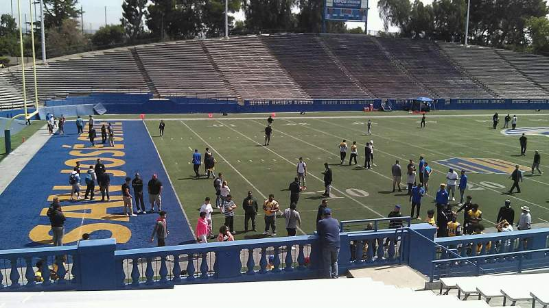 Seating view for CEFCU STADIUM Section 115 Row 20 Seat 8