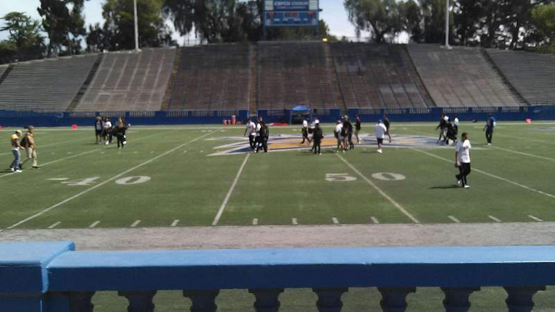 Seating view for CEFCU STADIUM Section 111 Row 3 Seat 16