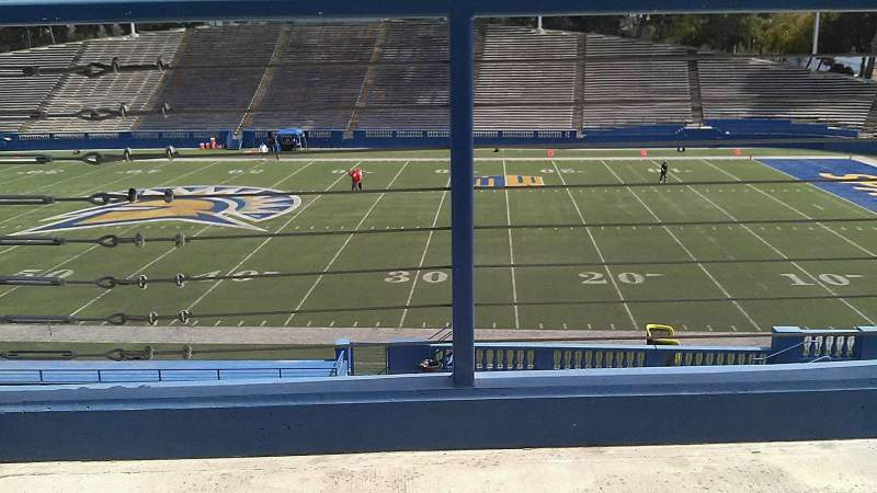 Seating view for CEFCU STADIUM Section 109 Seat 23