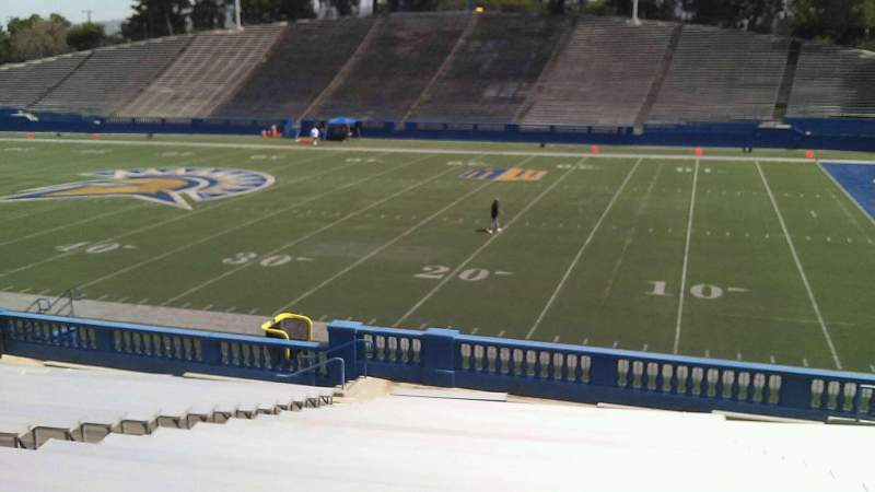 Seating view for CEFCU STADIUM Section 108 Row 26 Seat 19