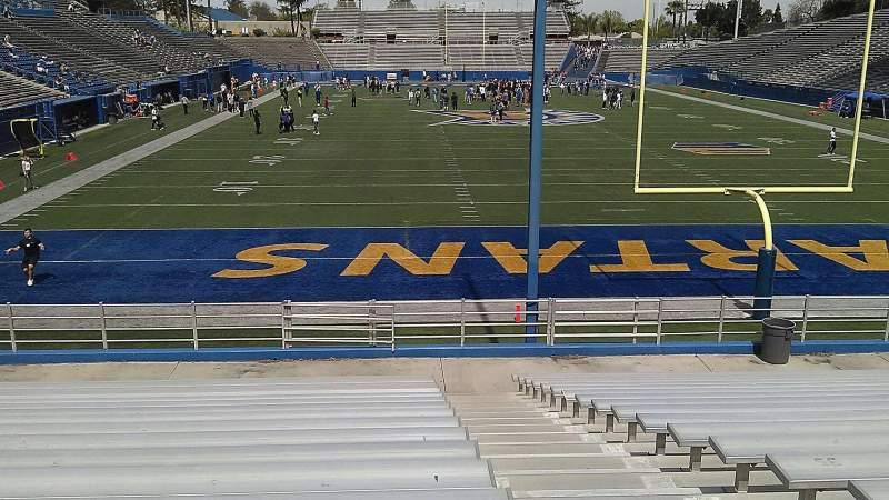 Seating view for CEFCU STADIUM Section 3S Row 19 Seat 1
