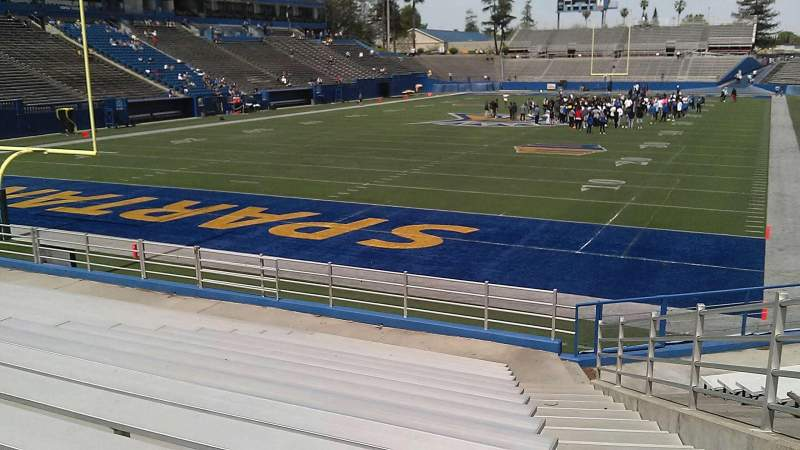 Seating view for CEFCU STADIUM Section 1S Row 16 Seat 1